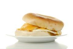 Breakfast sandwich Stock Images