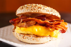Breakfast Sandwich Stock Image