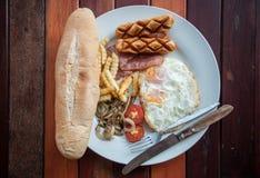 Breakfast Sandwich in Laotian style Royalty Free Stock Image