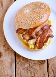Breakfast Sandwich Stock Photography