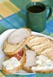 Breakfast sandwiches Stock Photos