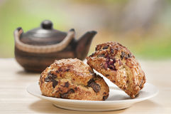 Breakfast scones Royalty Free Stock Photography