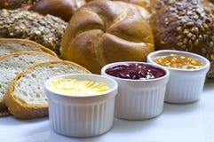 Breakfast set Stock Images