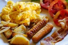 Breakfast set royalty free stock photos