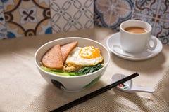 Breakfast set Stock Photo