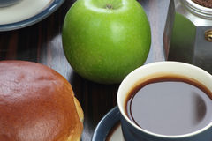 Breakfast set. Royalty Free Stock Photography