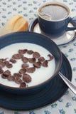 Breakfast set. Royalty Free Stock Photo