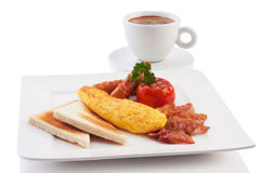 Breakfast set Stock Images