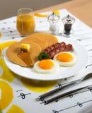 Breakfast set Royalty Free Stock Photo