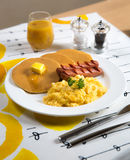 Breakfast set Royalty Free Stock Photography