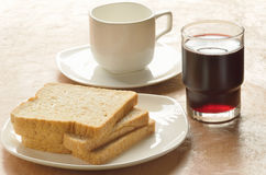 Breakfast sets Stock Photography