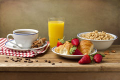 Breakfast setting Royalty Free Stock Photo