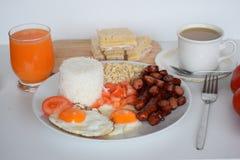 Breakfast, Simple Breakfast, Asian Breakfast, Philippine Breakfast, Traditional Philippine Breakfast Royalty Free Stock Photography