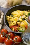 Breakfast Skillet 006 Royalty Free Stock Photography