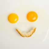 Breakfast smile Stock Image