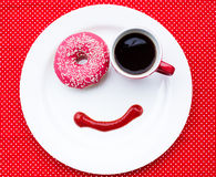 Breakfast with smile Stock Photo