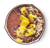 Breakfast smoothie bowl Stock Photos