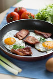 Breakfast. With some eggs and bacon Royalty Free Stock Photos
