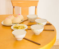 Breakfast in South China Royalty Free Stock Photography