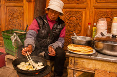 Breakfast Stand in China Stock Photography