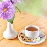 Breakfast still life Stock Image