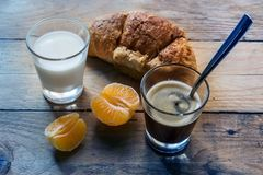Breakfast still life natural light royalty free stock photography