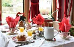 Breakfast table Stock Image