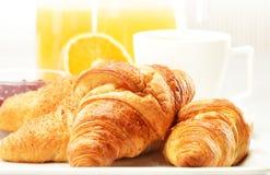 Breakfast on the table Stock Photo