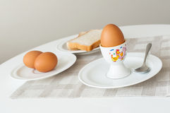 Breakfast table Royalty Free Stock Images