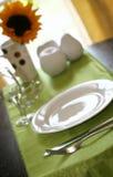 Breakfast Table Stock Photography