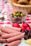 Breakfast table Royalty Free Stock Photo