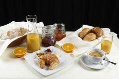 Breakfast table Stock Photos