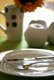 Breakfast Table Detail Royalty Free Stock Images