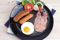 Breakfast on the table Stock Photography