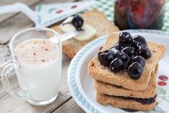 Breakfast Table Royalty Free Stock Photos