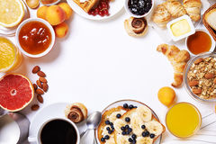 Free Breakfast Table.top View Stock Photography - 75964722