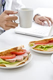 Breakfast, Royalty Free Stock Images