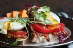 Breakfast Tartine Royalty Free Stock Image