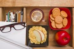 Breakfast teacher Stock Photos