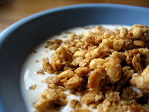 Breakfast Time. Crunchy, crispy and light - all you need for a great start of the day Royalty Free Stock Image