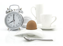 Breakfast Time consept Royalty Free Stock Photography