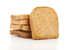 Breakfast Toast. On White Background Royalty Free Stock Photography