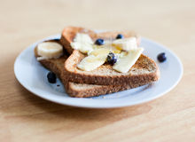 Breakfast Toast Stock Image