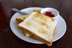 Breakfast of toast Royalty Free Stock Image
