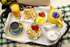 Breakfast Tray Stock Photos