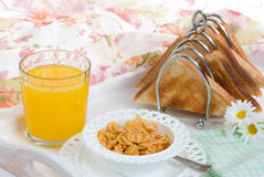 Breakfast Tray Royalty Free Stock Images