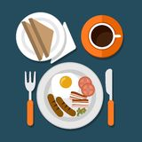 Breakfast Royalty Free Stock Photography