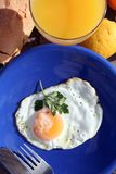 Breakfast , very Healthy Breakfast. Composition in colors and shapes Royalty Free Stock Image