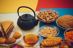 Breakfast with vitamins. Royalty Free Stock Photos