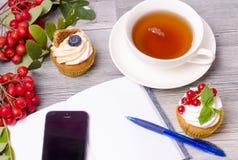 Breakfast before work, Stock Images